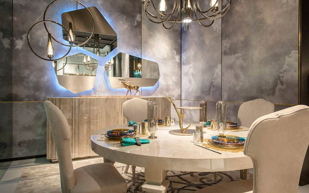 Dining Room Design 06 In Asian Games Village Complex
