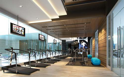 Attractive And Functional Gym Are Sure To Make Exercising Fun Designed As Per The Requirement Of Our Clients