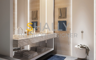 Bathroom Interior Design in Dwarka