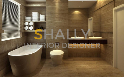 Bathroom Interior Design in Khanpur