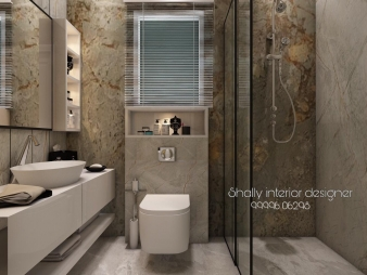 Bathroom Interior Design in Badarpur