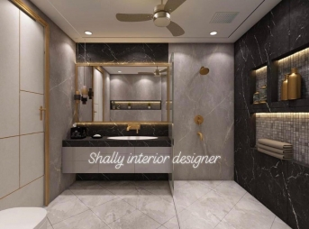 Bathroom Interior Design in Saraswati Garden