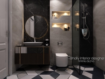 Bathroom Interior Design in Mukherjee Nagar