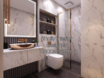 Bathroom Interior Design in Meera Bagh
