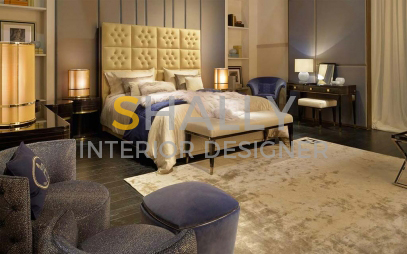 Bedroom Interior Design in Indira Gandhi International Airport