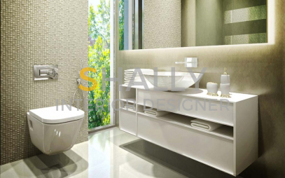Bathroom Interior Design in Minto Road