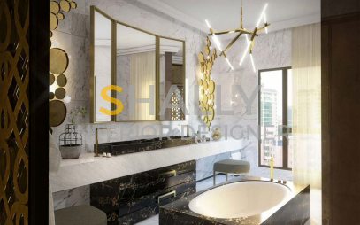 Bathroom Interior Design in Delhi Cantt