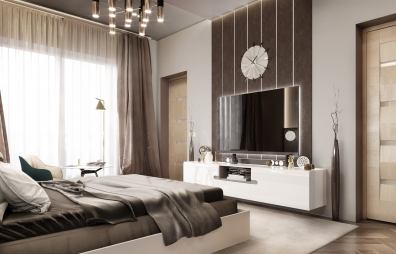 Bedroom Interior Design in Anand Parbat
