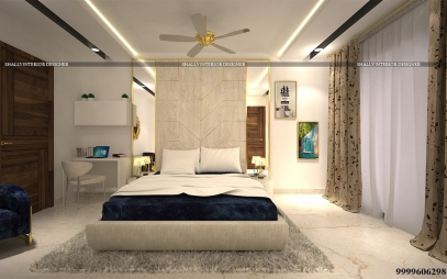 Bedroom Interior Design in J J Colony