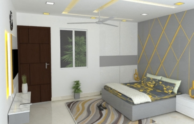 Bedroom Interior Design in Chankyapuri