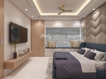 Bedroom Interior Design in Safdarjang
