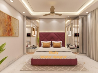 Bedroom Interior Design in Najafgarh