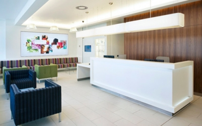 Clinic Interior Design in Nehru Place