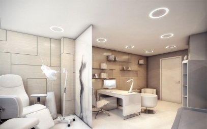 Clinic Interior Design in Geeta Colony