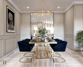 Dining Room Interior Design in Nehru Place