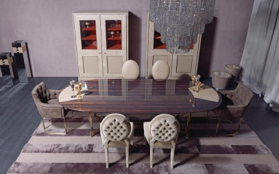 Dining Room Interior Design in Old Delhi