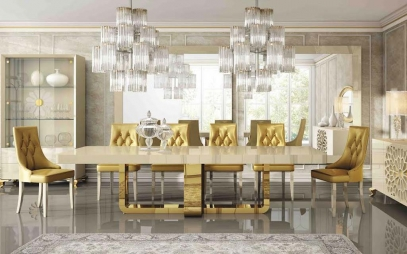 Dining Room Interior Design in West Delhi