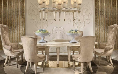 Dining Room Interior Design in Seelampur