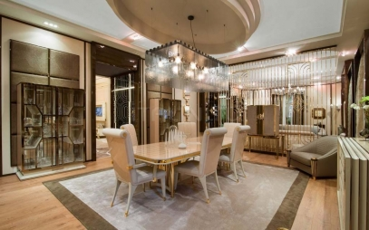 Dining Room Interior Design in Janakpuri