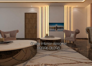Drawing Room Interior Design in Badarpur