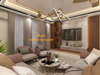Drawing Room Interior Design in Haiderpur