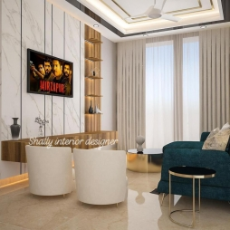 Drawing Room Interior Design in Kanjhawala