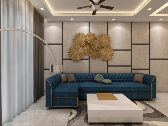 Drawing Room Interior Design in Delhi Ncr