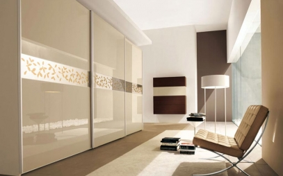 Dressing Room Interior Design in East Of Kailash