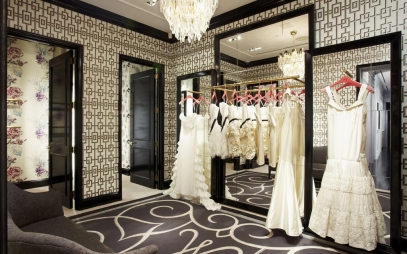 Dressing Room Interior Design in Saraswati Garden