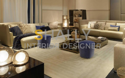 Drawing Room Interior Design in Kalyanpuri