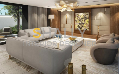 Drawing Room Interior Design in Defence Colony
