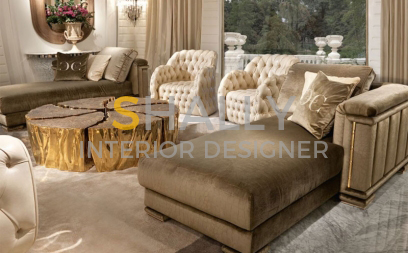 Drawing Room Interior Design in Noida