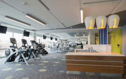 Gym Interior Design in Patper Ganj