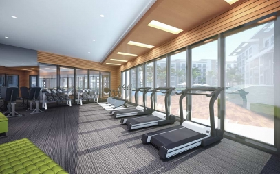 Gym Interior Design in West Delhi