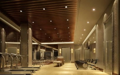 Gym Interior Design in Ramesh Nagar
