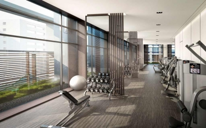 Gym Interior Design in Haiderpur