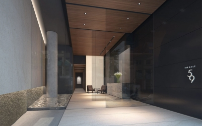 Home Entrance Design in Bali Nagar