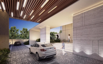 Home Entrance Design in Naraina Industrial Area