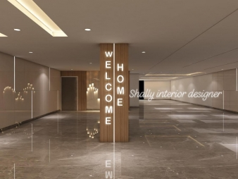 Home Entrance Design in Safdarjang