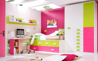 Kids Room Interior Design in Kamla Nagar