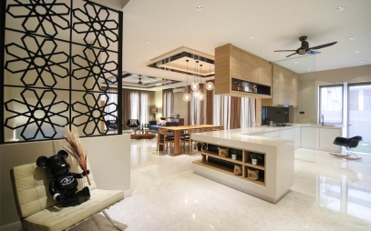 Kitchen Interior Design in Indira Gandhi International Airport