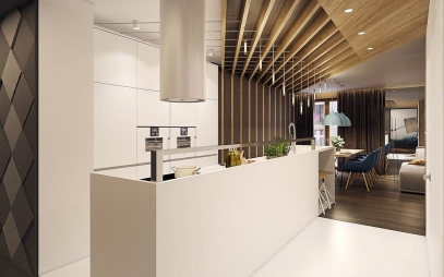 Kitchen Interior Design in Civil Lines