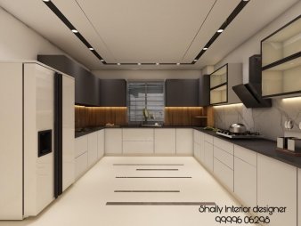 Kitchen Interior Design in Connaught Place