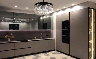 Kitchen Interior Design in Defence Colony