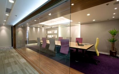 Office Entrance Design in Gurugram