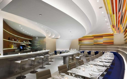 Restaurant Interior Design in Mansarover Park