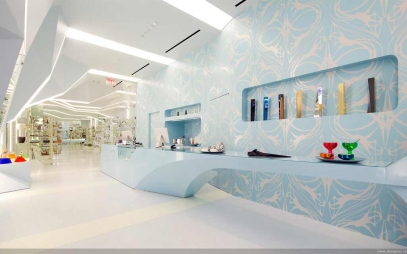 Showroom Interior Design in J J Colony