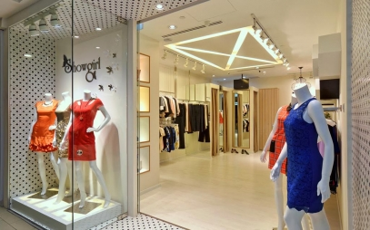 Showroom Interior Design in Hari Nagar