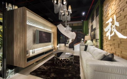 Showroom Interior Design in Nangloi