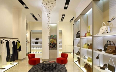 Showroom Interior Design in Mehrauli